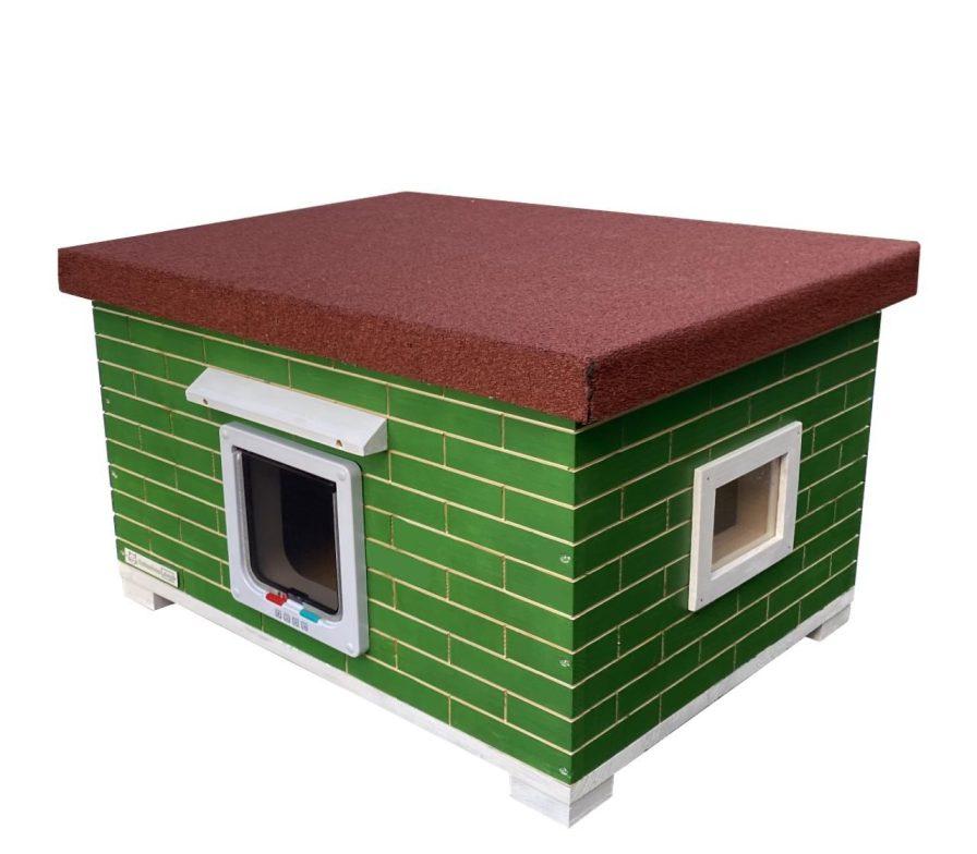 Katzenhaus, Katzenhütte XXL vollisoliert