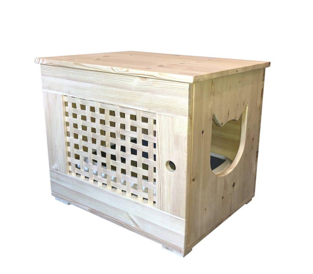 Katzentoilette Katzenklo (Möbel) für die Wohnung