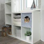 Katzenhöhle für Regal Beispiel