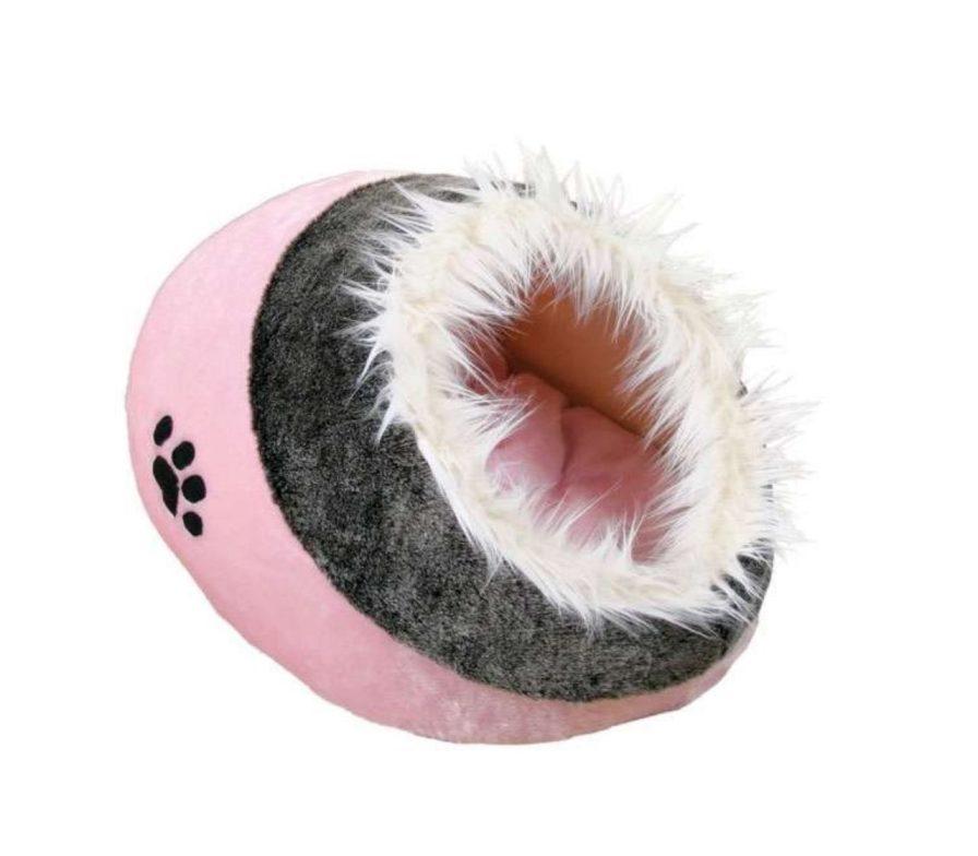 Katzenhöhle Plüschbezug Rosa Pink