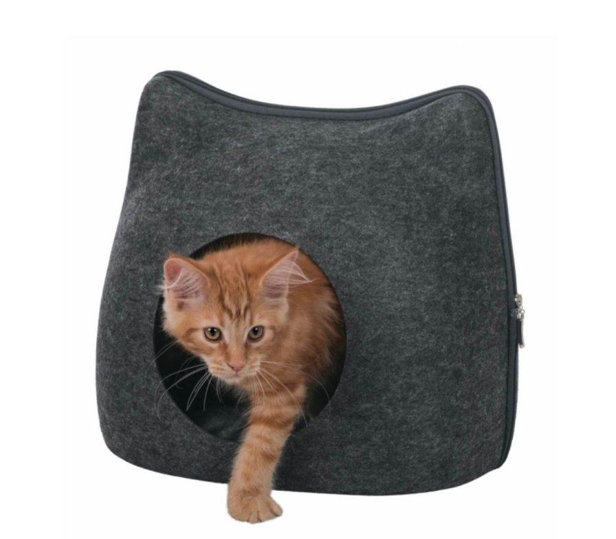 Katzenhöhle schwarz