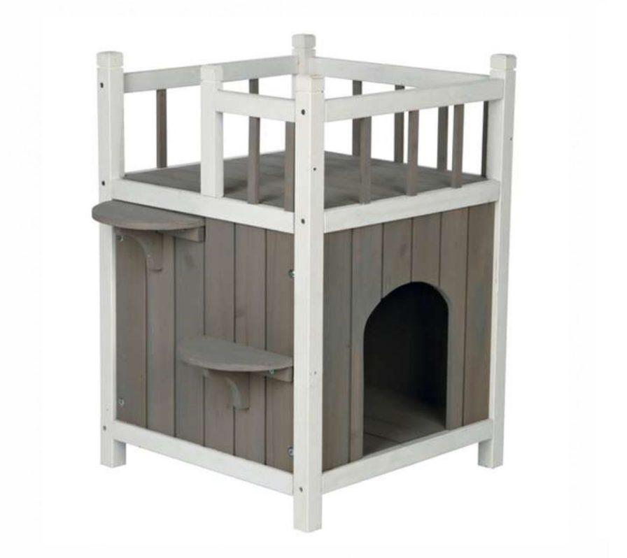 Katzenhaus mit Balkon Trixie Cats Home